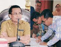 Wakil Walikota Bima Saksikan Penandatangan MoU Permodalan Peternak Sapi