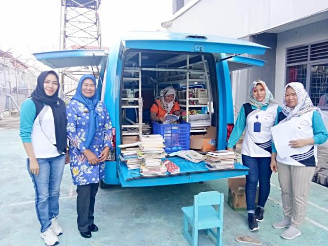 Dinas Perpustakaan dan Kearsipan Provinsi Lampung lakukan Layanan Perpustakaan Keliling