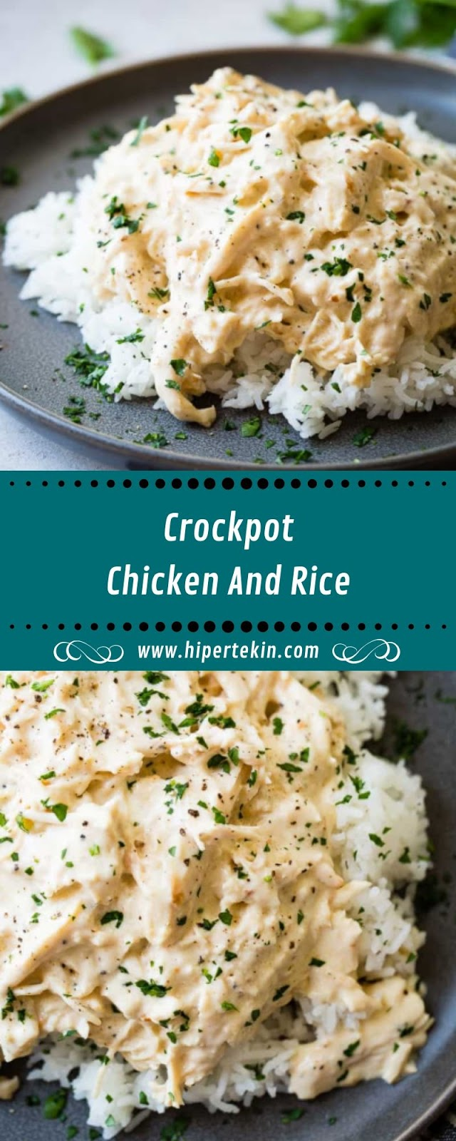 CROCKPOT CHICKEN AND RICE