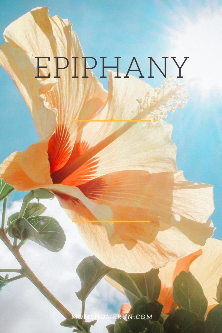 Running epiphany