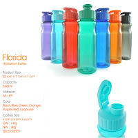 Jual Tumbler Promosi Plastik Florida - hydration Bottle