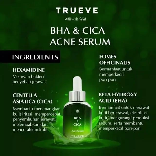Trueve BHA & Cica