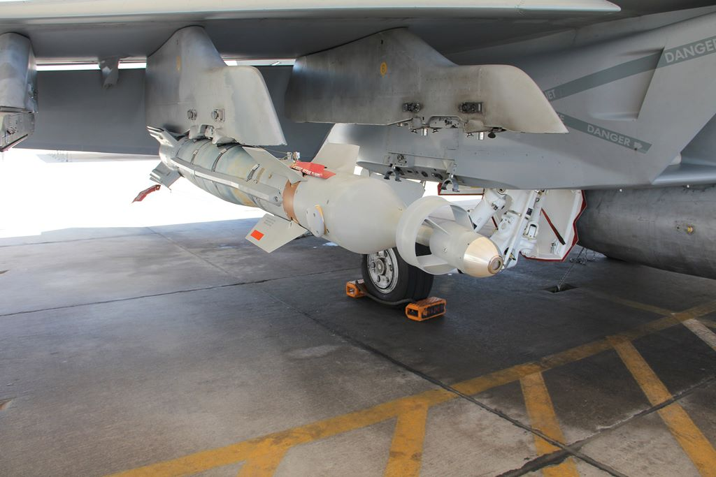Lockeed Martin Tests New Laser Guided Bomb On Super Hornet