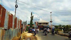 Dishub dan Polres Banjarbaru Menyorot Pembangunan Hotel di Dekat Bundaran Amaco