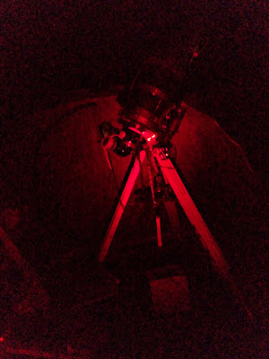 telescope and mount working