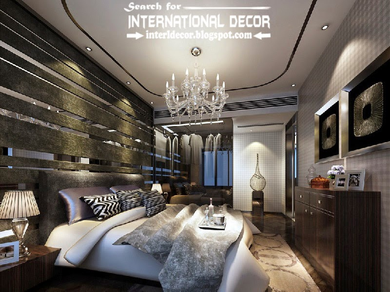 contemporary luxury bedroom decorating ideas designs furniture 2015, bedroom false ceiling