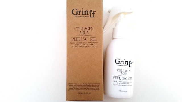 Grinif Collagen Aqua Peeling Gel Review