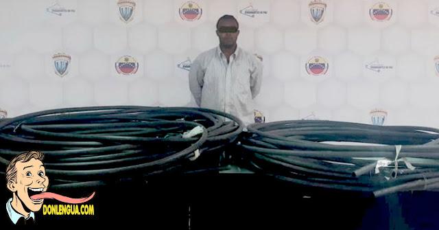 Preso por instalar manguera de agua desde tanque de 6 millones de litros hasta su casa