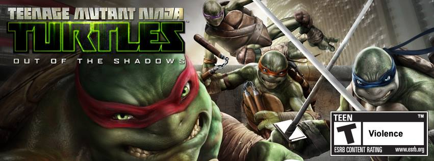 TMNT: Out of the Shadows game ps3 - YouTube