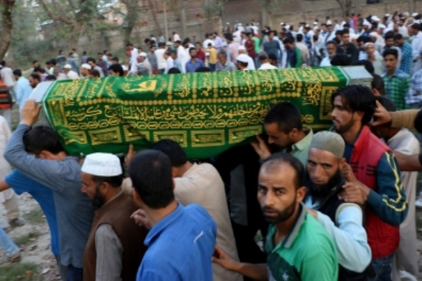 Peoples Conference Party worker shot dead in Kashmir