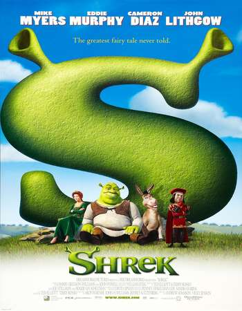 Poster Of Shrek 2001 Hindi Dual Audio 400MB BluRay 720p ESubs HEVC Free Download Watch Online downloadhub.in