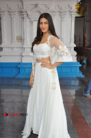Telugu Actress Amyra Dastur Stills in White Skirt and Blouse at Anandi Indira Production LLP Production no 1 Opening  0100.JPG