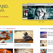 Brand Mag UX Responsive Blogger Template | Templateism