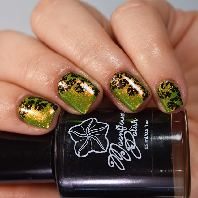 moonflower-polish-noche-over-ethereal-lacquer-rainforest-stamping