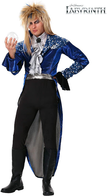 Jareth Labyrinth re dei goblin costume Halloween cosplay