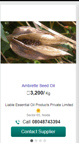 ambrette essential oil , ambrette essential oil on indiamart , work from home , work from home tips