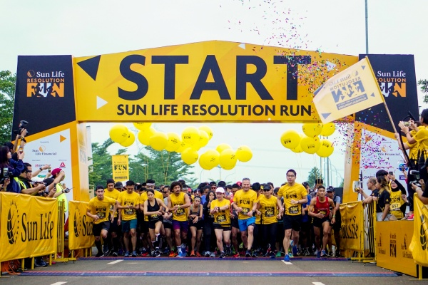 Sun Life Resolution Run 2020 #LiveHealthierLives
