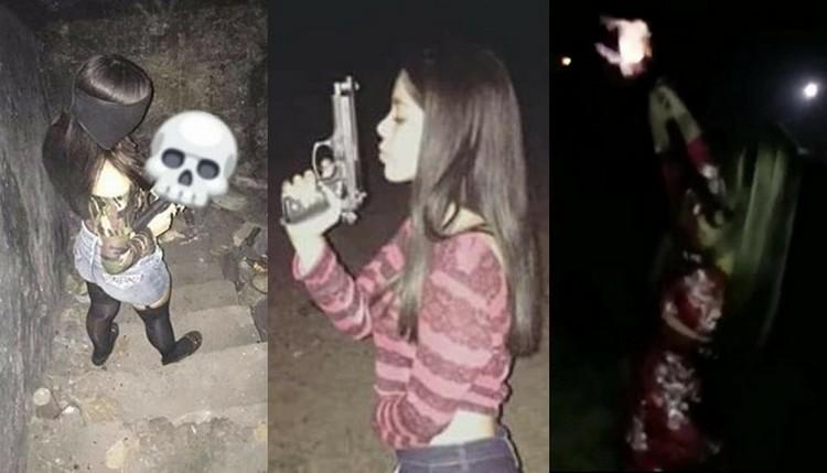 """Las jóvenes sicarias de """"Los Marucheros"""" célula del Cártel del Golfo presumen su belleza y exhiben sus armas en redes"""