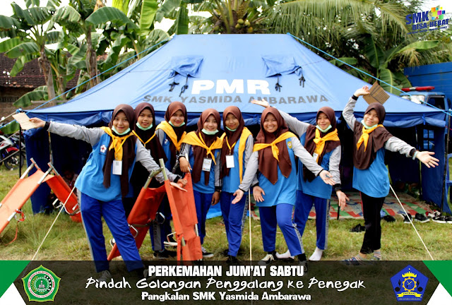 PMR SMK Yasmida Ambarawa berpartisipasi pada PERJUSA Tahun 2019
