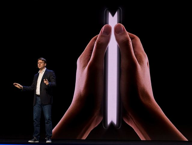 Samsung Said to Be Secretly Working on Foldable Phon