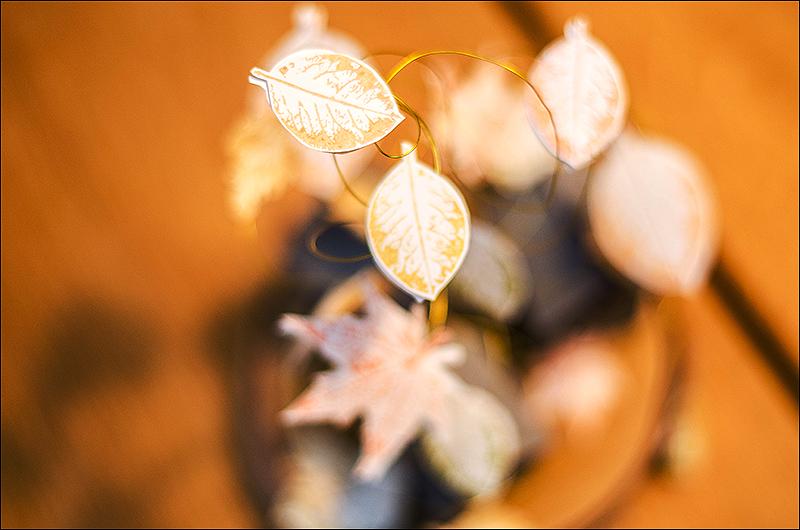 Stephanie Berger - Scrapbooking - Homedeco - Wycinanka - Tiny Fall houses