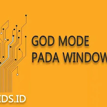 Membuat Pintasan God Mode pada Window 10