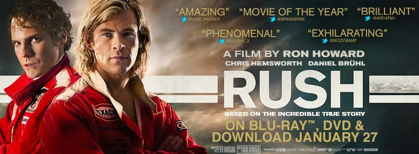DVD Review: Rush (2013) | FADED GLAMOUR