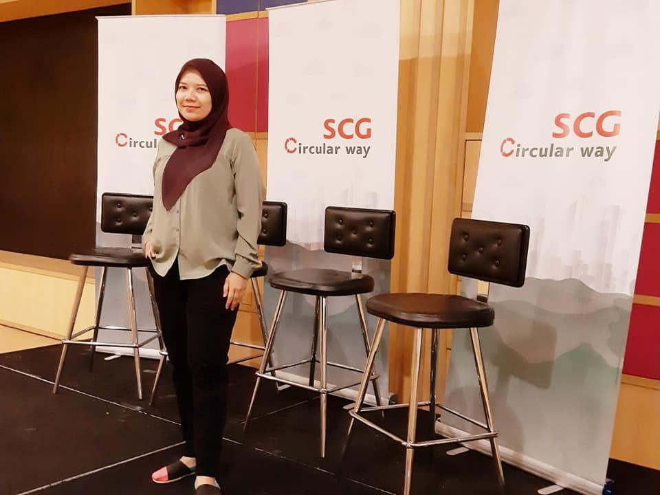 cara tips terapkan gaya hidup ekonomi sirkular dalam kehidupan sehari hari nurul sufitri travel lifestyle blogger review info scg indonesia