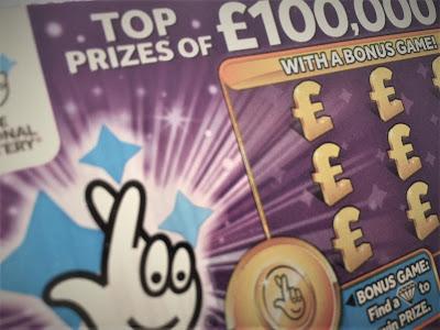 £1 Purple Scratchcard