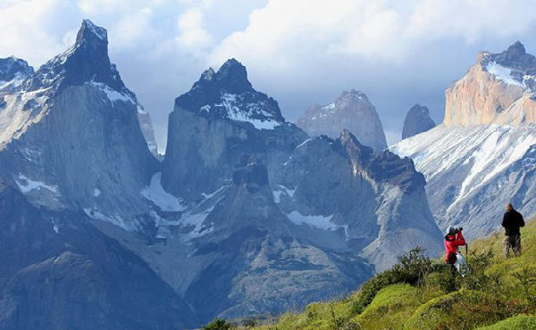 Paine Horns, Patagonia, Southern Chile.