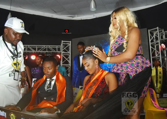 Queen Jennifer Ephraim Crowns Mr And Miss Unity Nigeria In Jos As Chief Judge Of The pageant