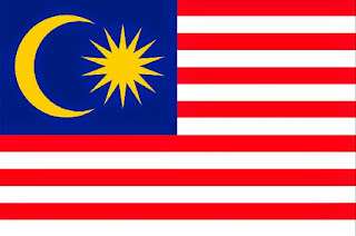 The Malaysian national flag