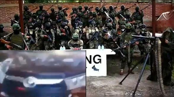 Video: Al saber la amenaza El CJNG detecta al nuevo Cártel Michoacano Los Correa y anuncia su limpia Sicarios se muestran con su poderío mientras los cazan