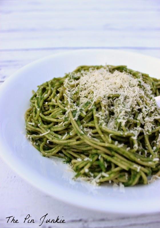 Spinach Pasta with Chicken