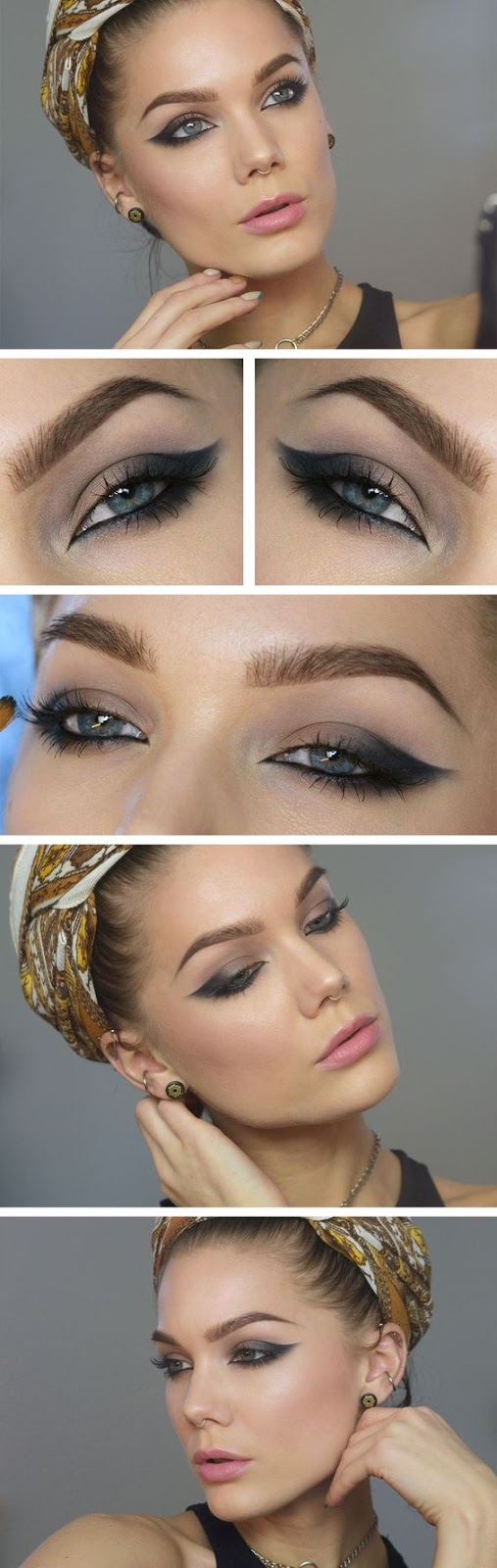 amazing boho make up idea