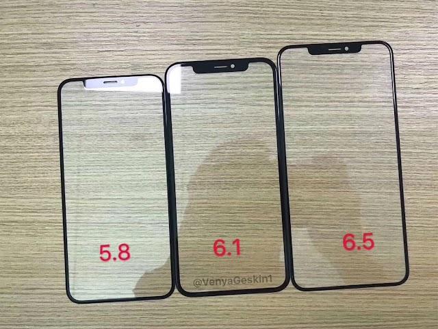 Ben Geskin Shares Image Of 2018 iPhones Front Glass Panel