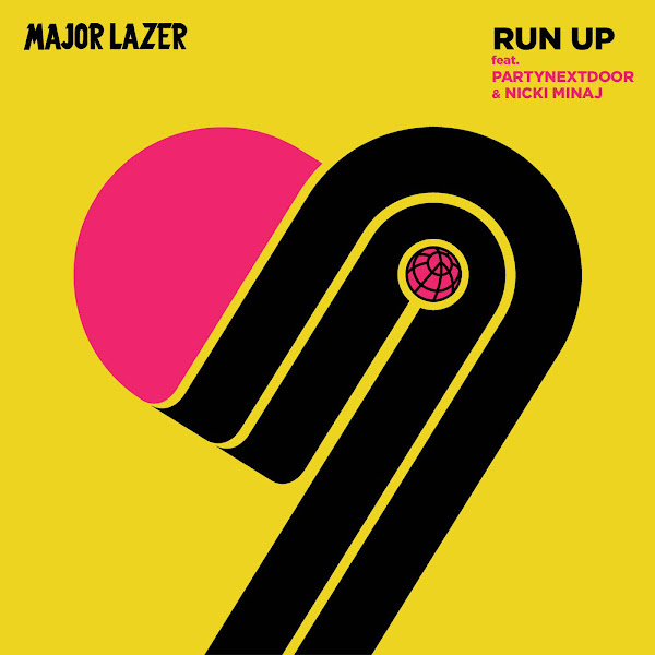Major Lazer - Run Up (feat. PARTYNEXTDOOR & Nicki Minaj) - Single Cover