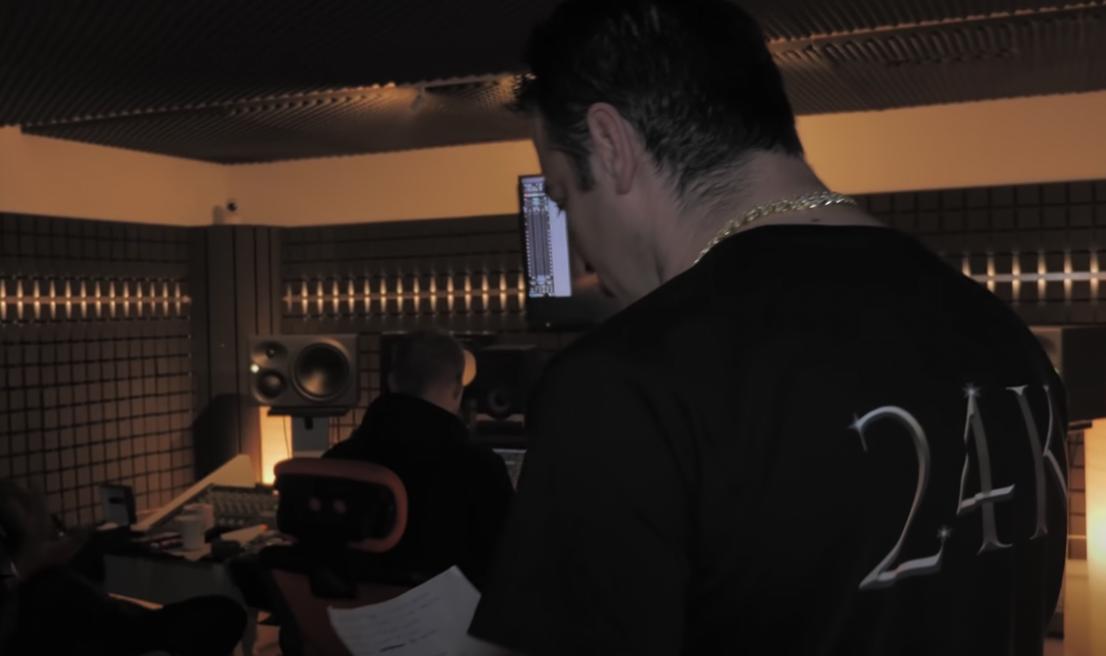 Ferdji 24K en studio pour Le Retour