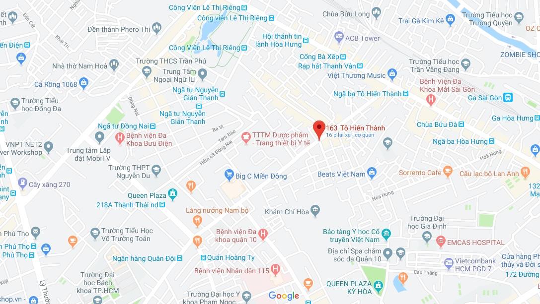 Bán nhà hẻm 163 Tô Hiến Thành phường 13 Quận 10. DT 3x20m