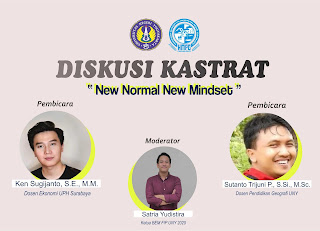 "[DISKUSI KASTRAT] #1 : ""NEW NORMAL NEW MINDSET"""