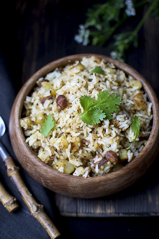 Spicy Potato Rice