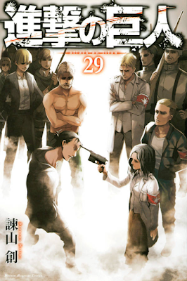 Manga Shingeki no Kyojin Volume 29 Bahasa Indonesia