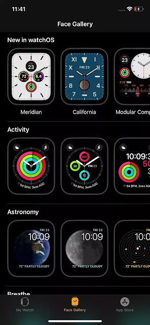Decorative and functional watch watches are a distinctive feature of Apple Watch watchfaces