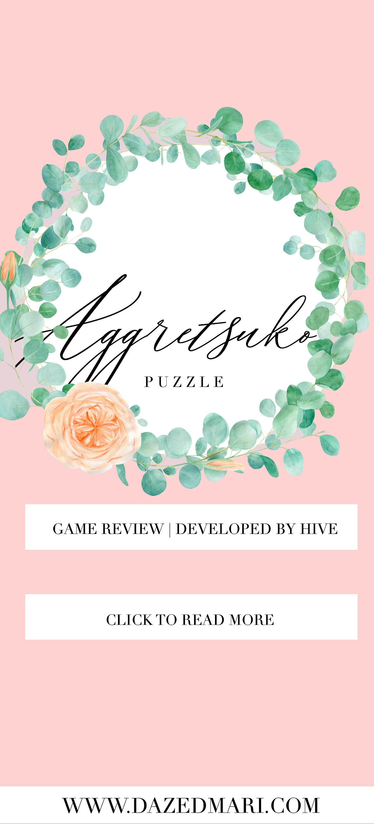 AggretsukoPuzzle, Game Review, The Short Timer Strikes Back, Developed by Hive