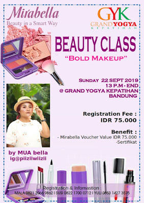 Makeup Class with Mirabella