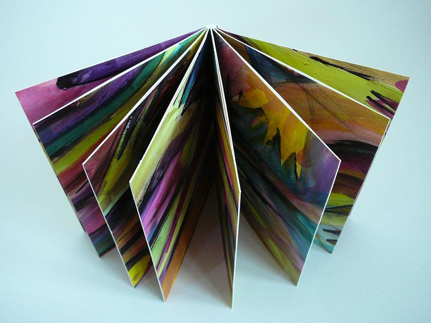 making handmade books instructions drum leaf binding