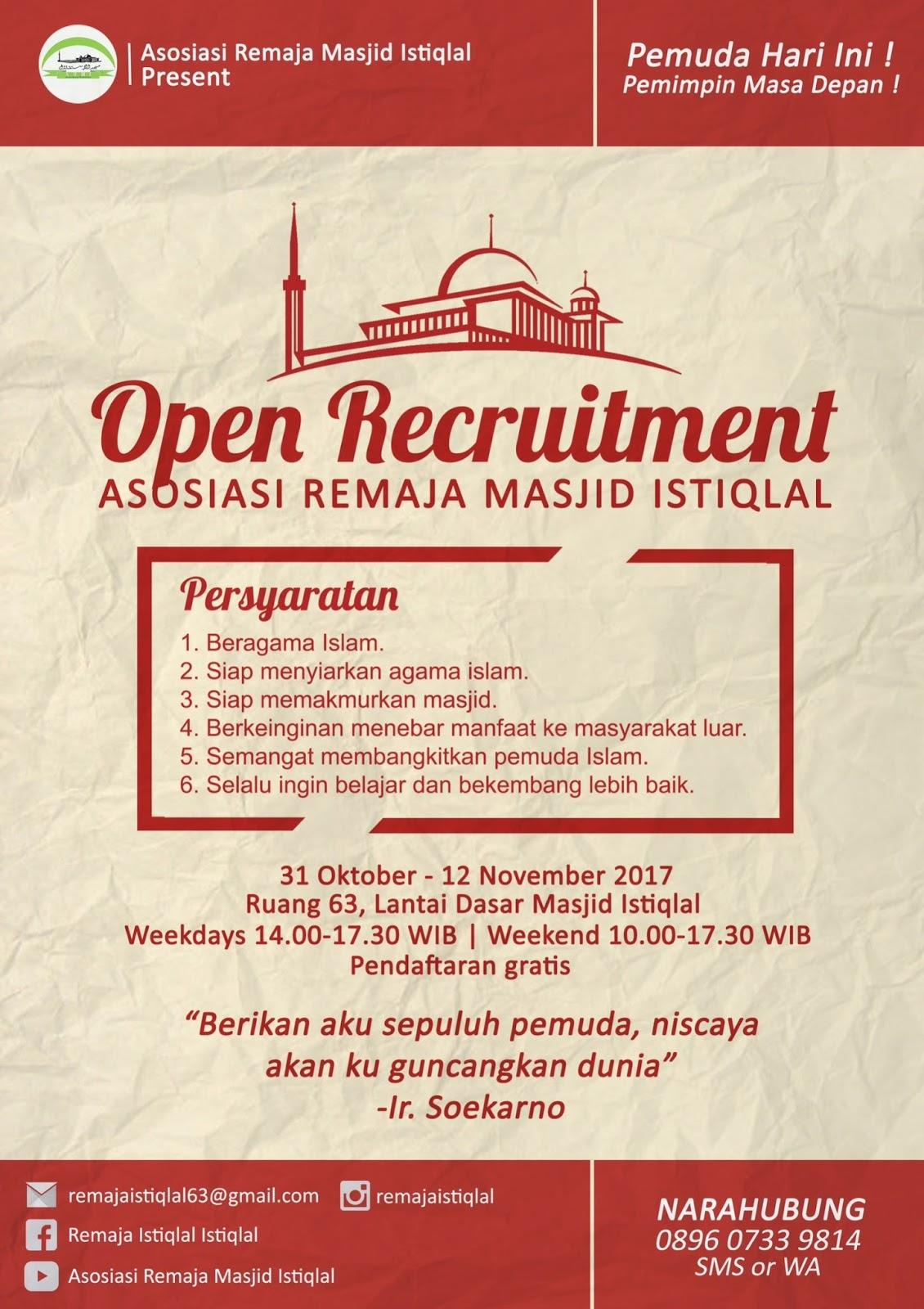 Asosiasi Remaja Masjid Istiqlal