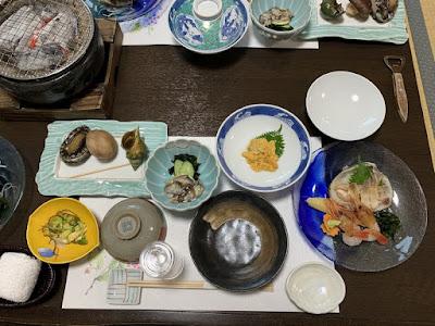 高島旅館 夕食