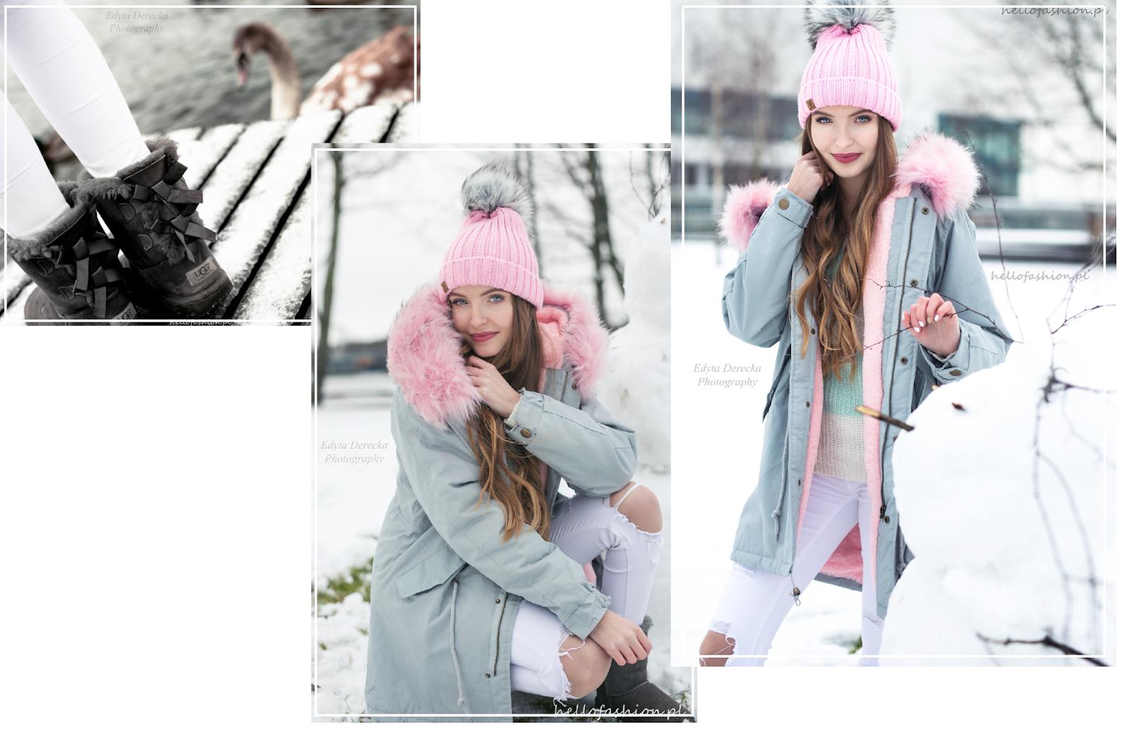 ciepła i modna stylizacja