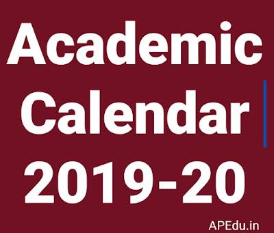 Academic Calendar - 2019-2020